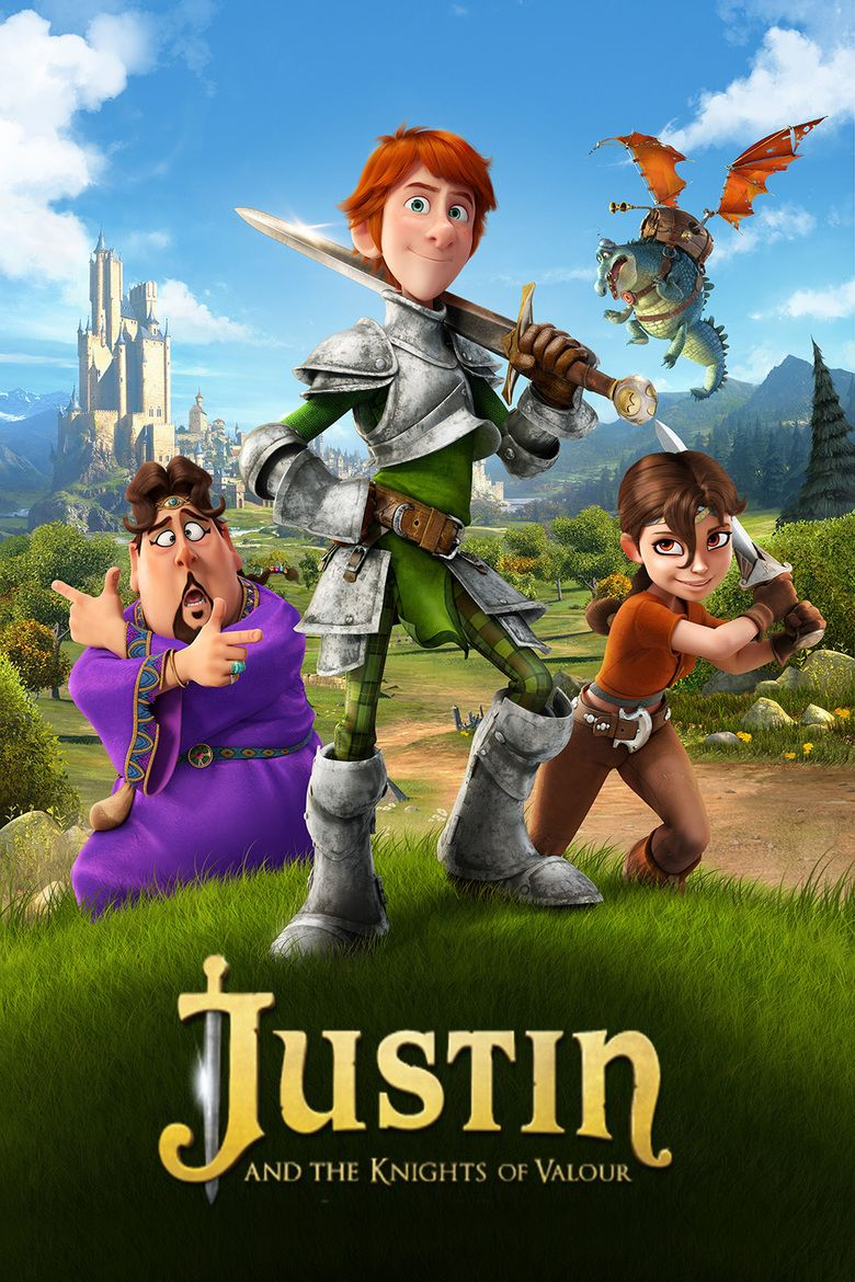 Justin and the Knights of Valour movie poster