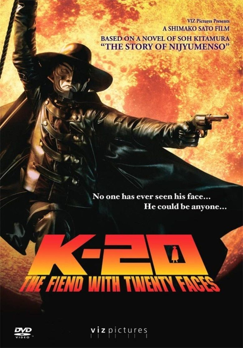 K 20: Legend of the Mask movie poster