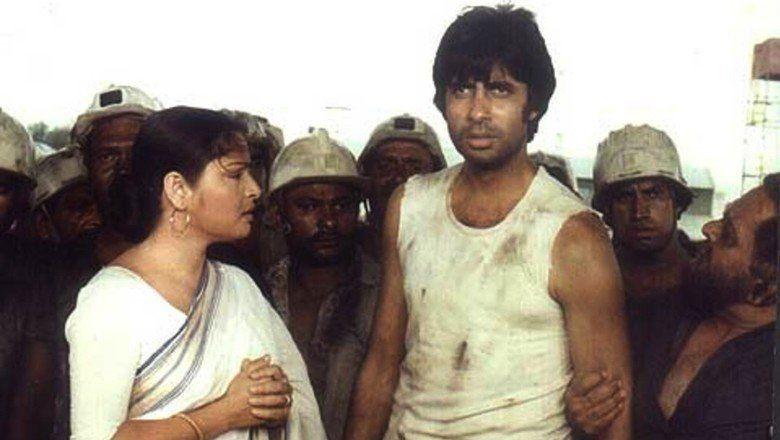 Kaala Patthar movie scenes