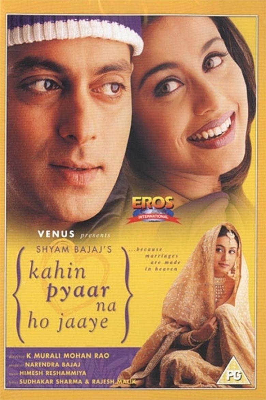 Kahin Pyaar Na Ho Jaaye (2000 film) movie poster