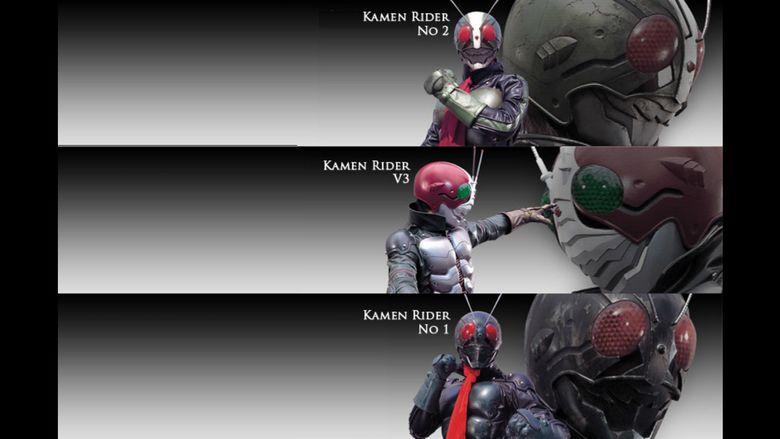 Kamen Rider: The Next movie scenes