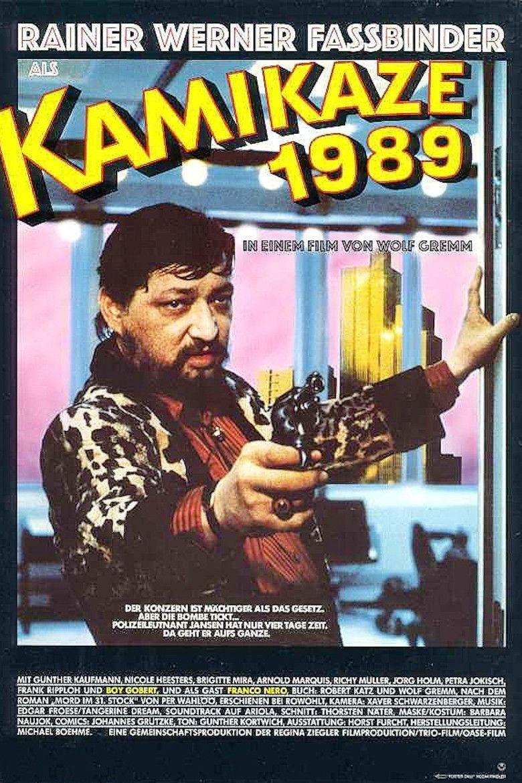 Kamikaze 1989 movie poster