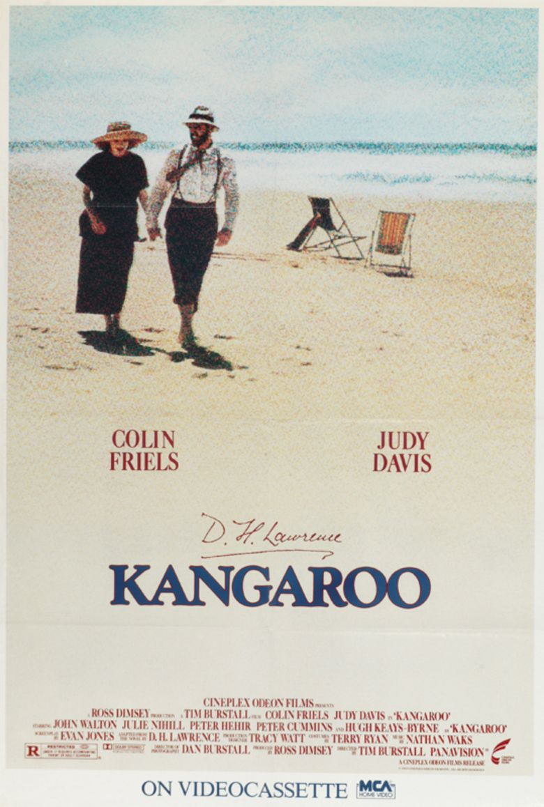 Kangaroo (1987 film) movie poster