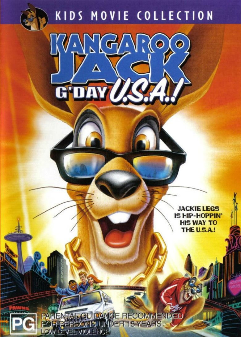 Kangaroo Jack: GDay USA! movie poster