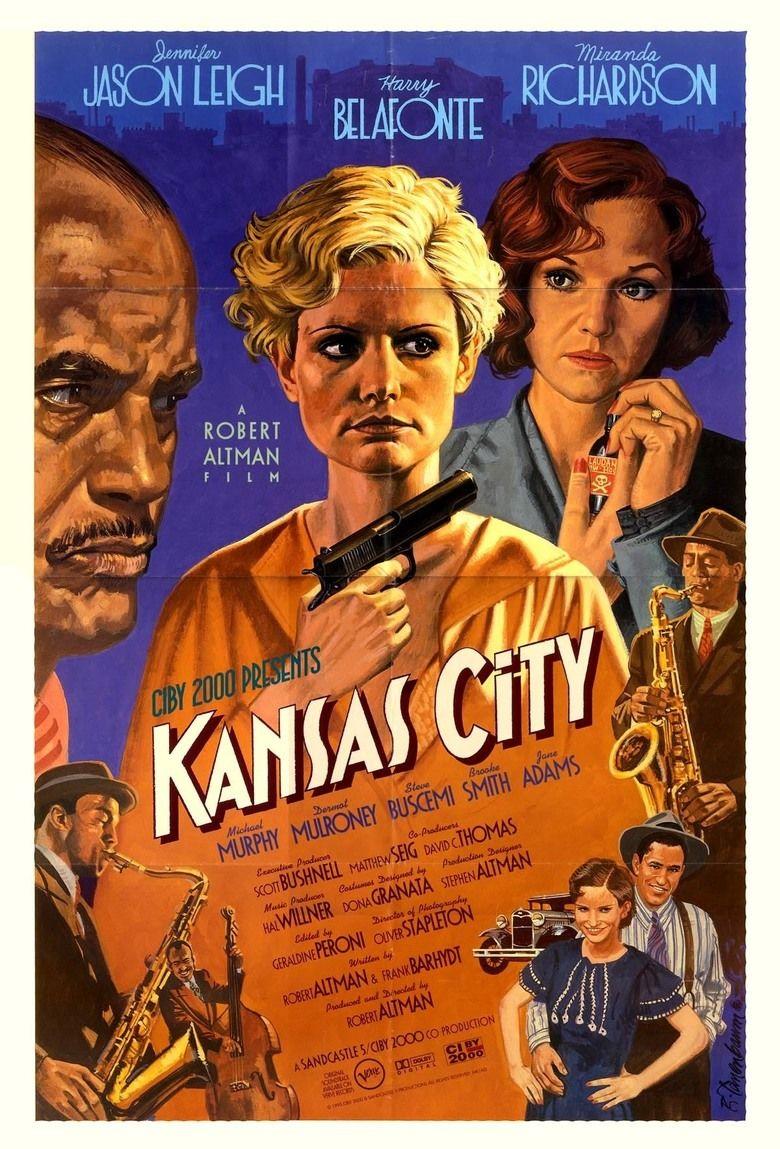 Kansas City (film) movie poster