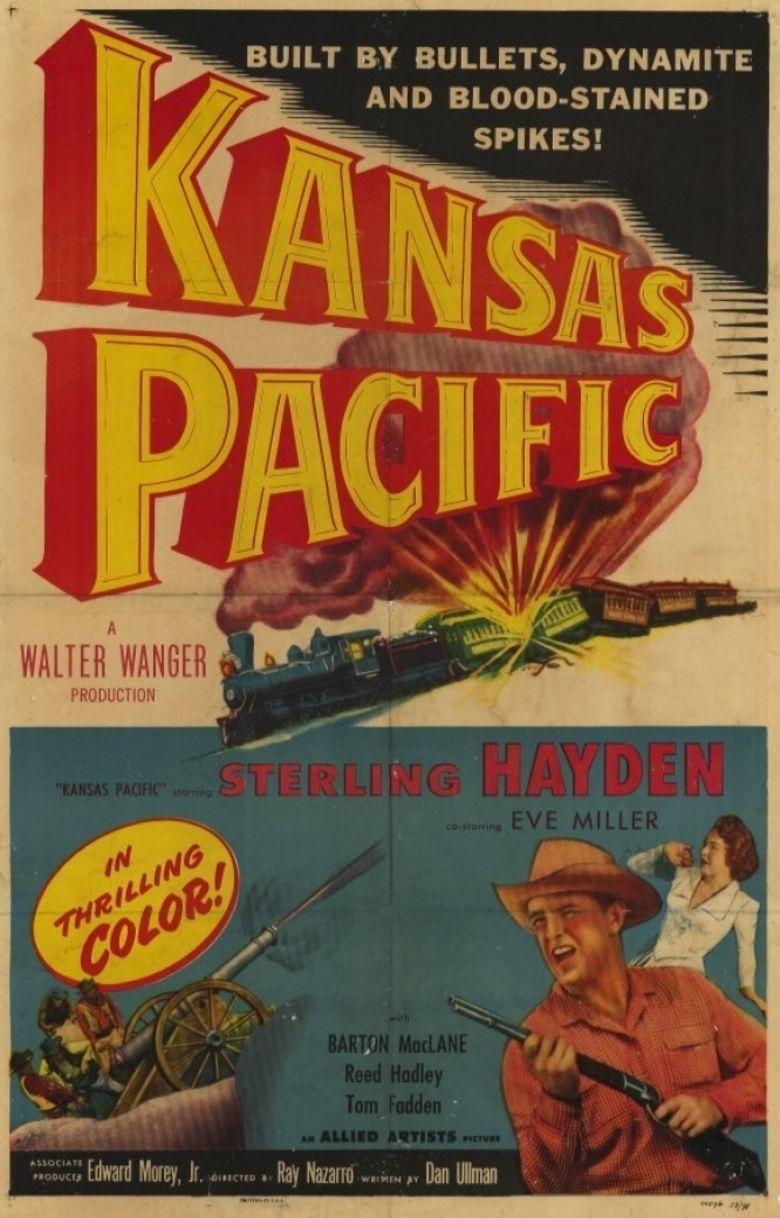 Kansas Pacific (film) movie poster