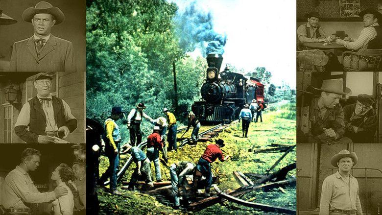 Kansas Pacific (film) movie scenes