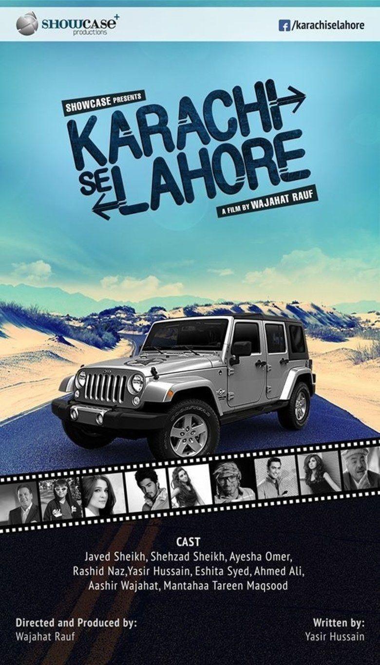 Karachi se Lahore movie poster