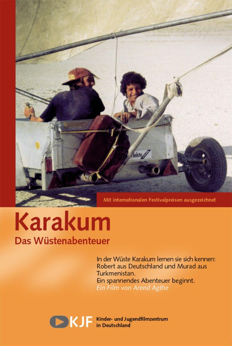 Karakum (film) movie poster