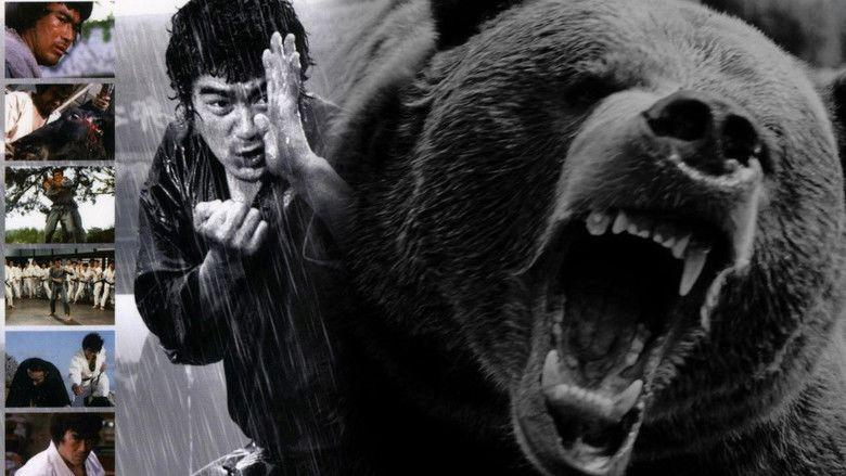 Karate Bearfighter movie scenes