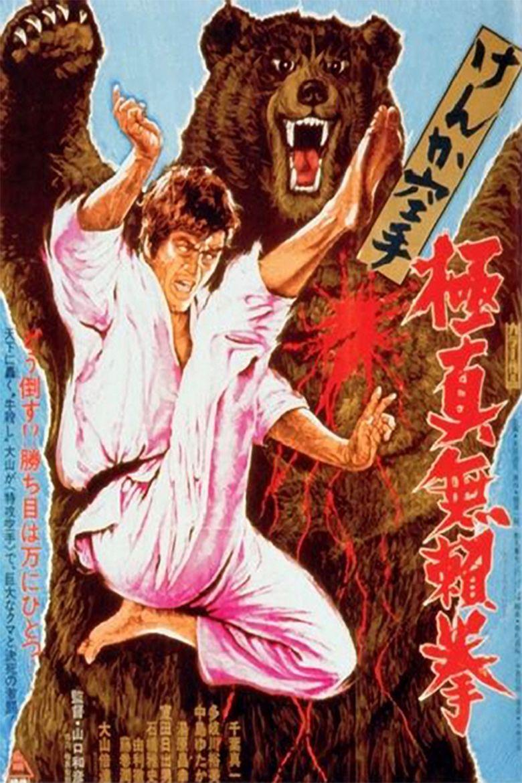 Karate Bearfighter movie poster