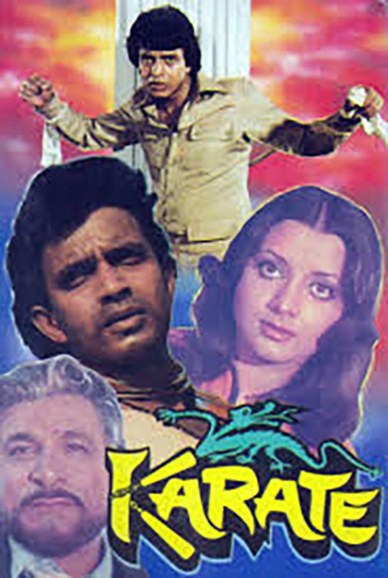Karate (film) movie poster