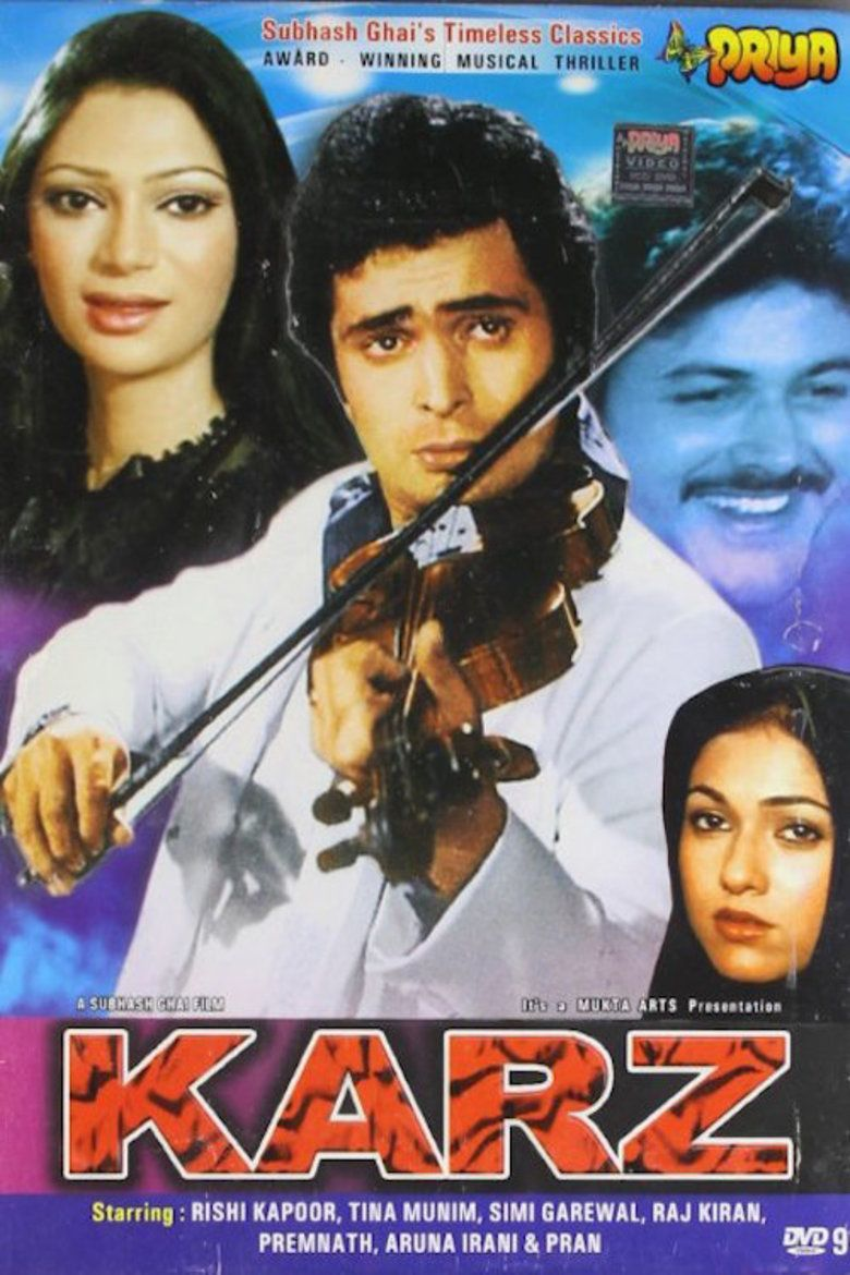 Karz (film) movie poster