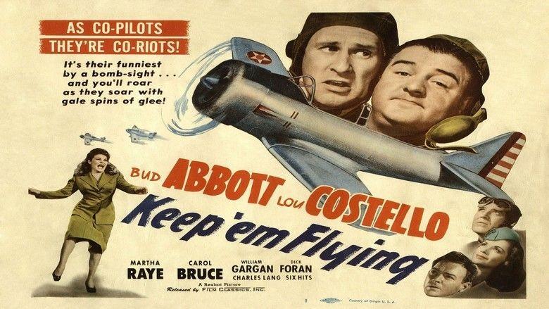 Keep Em Flying movie scenes