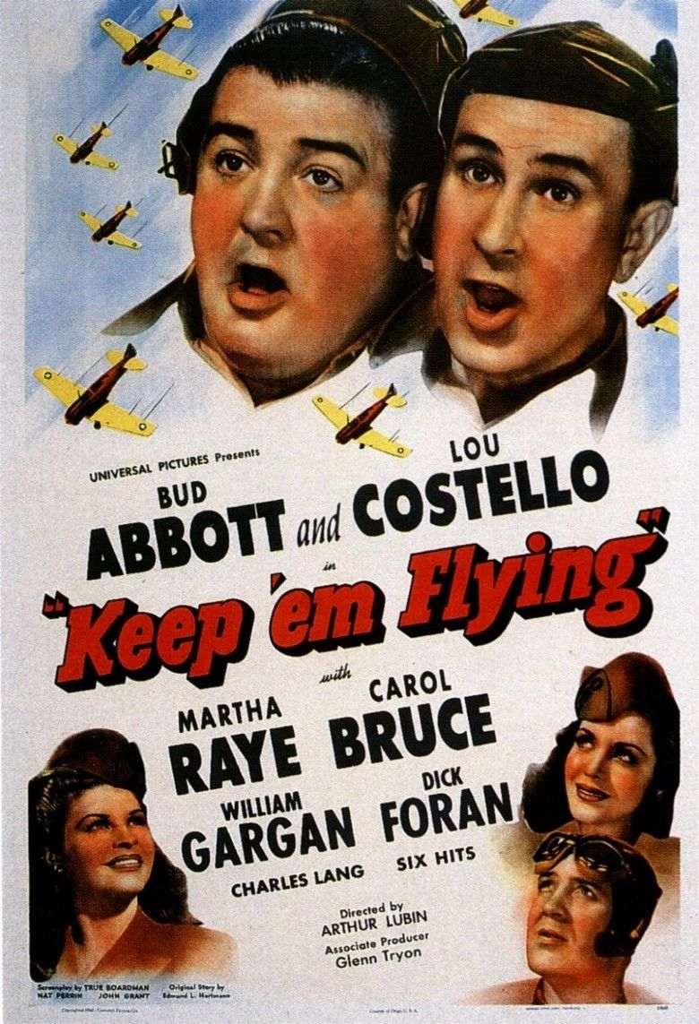 Keep Em Flying movie poster