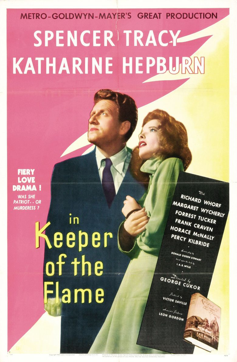 Keeper of the Flame (film) movie poster