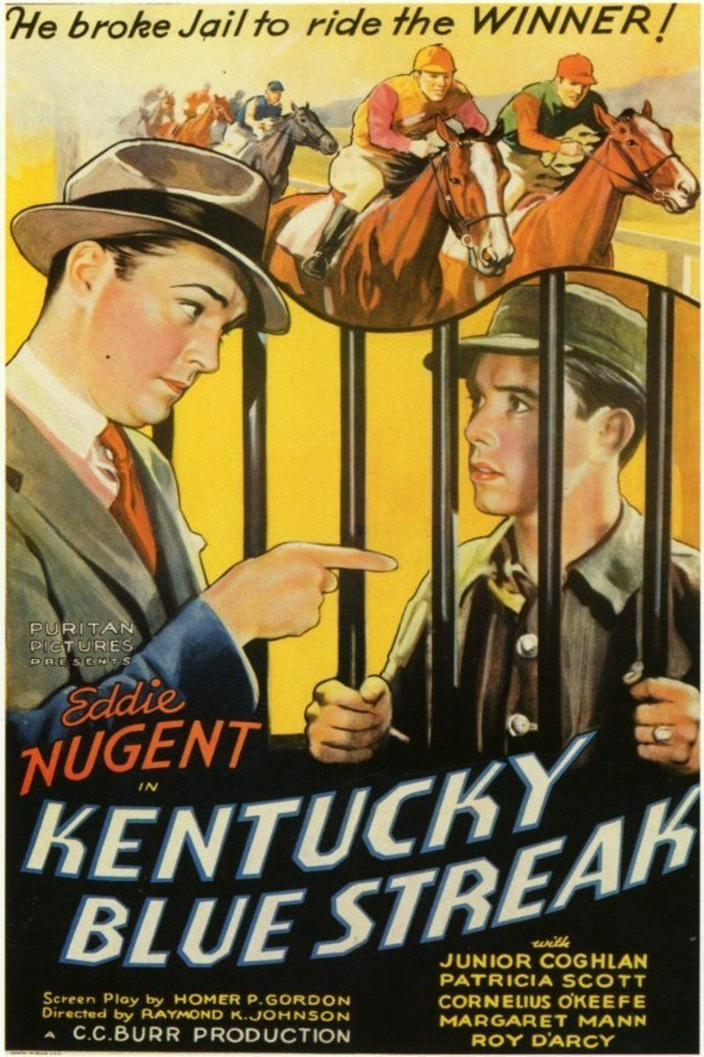 Kentucky Blue Streak movie poster