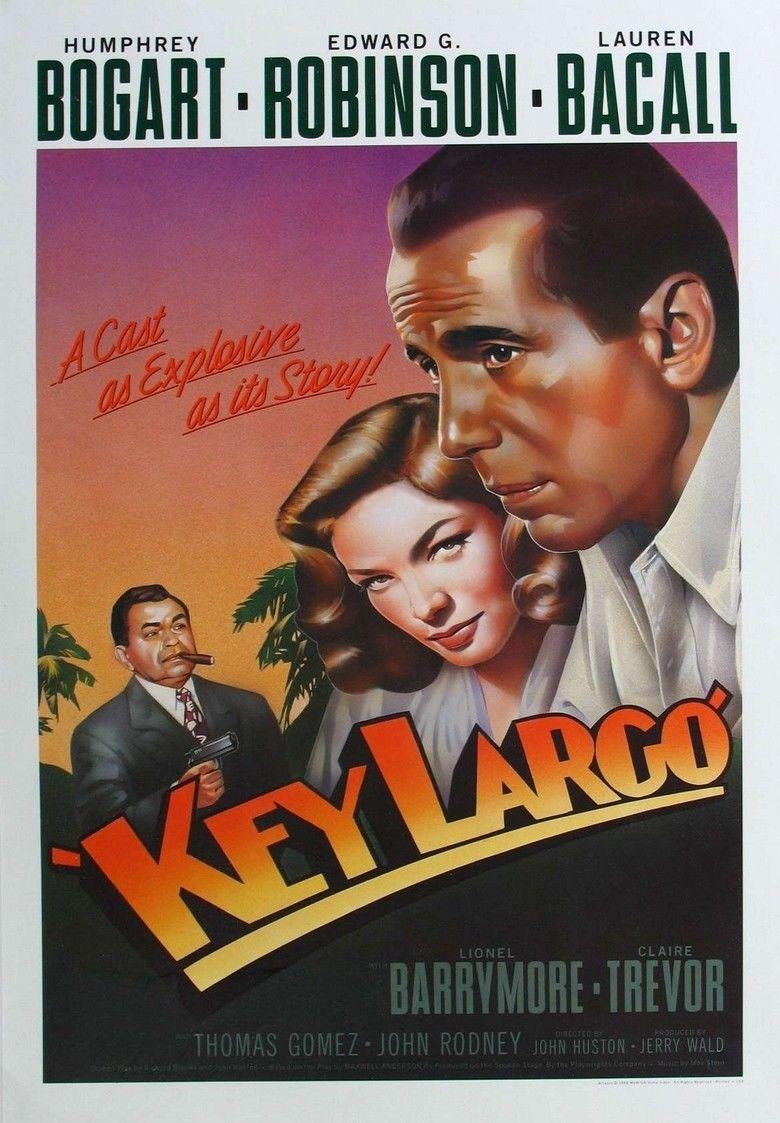 Key Largo (film) movie poster