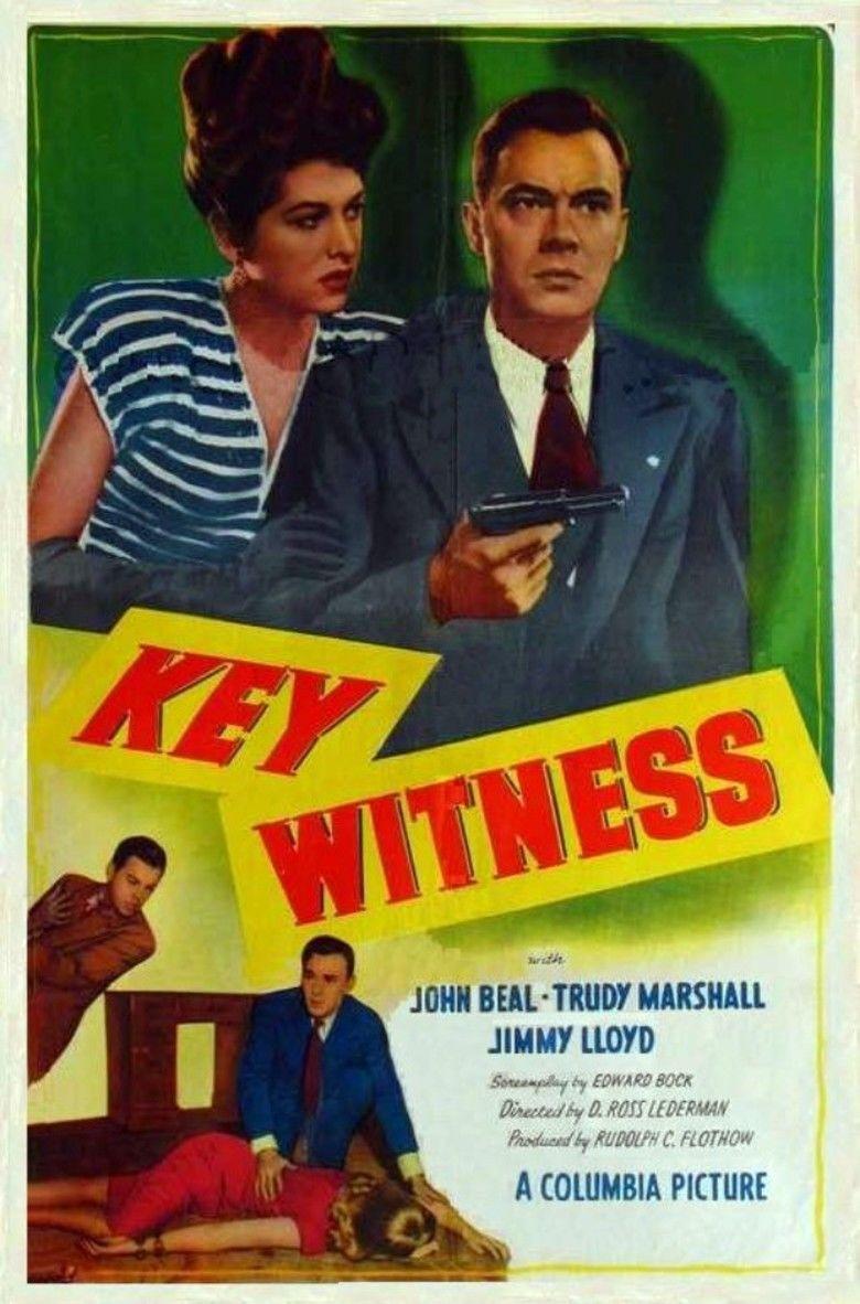 Key Witness (1947 film) movie poster