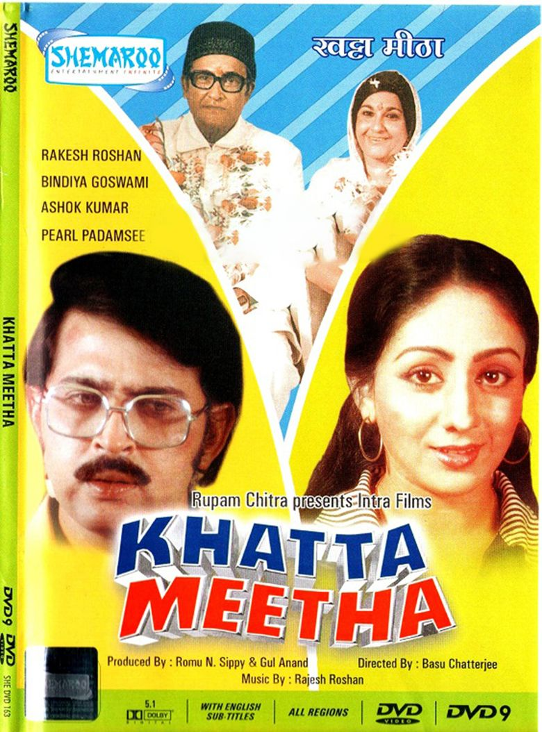 Khatta Meetha (1978 film) movie poster