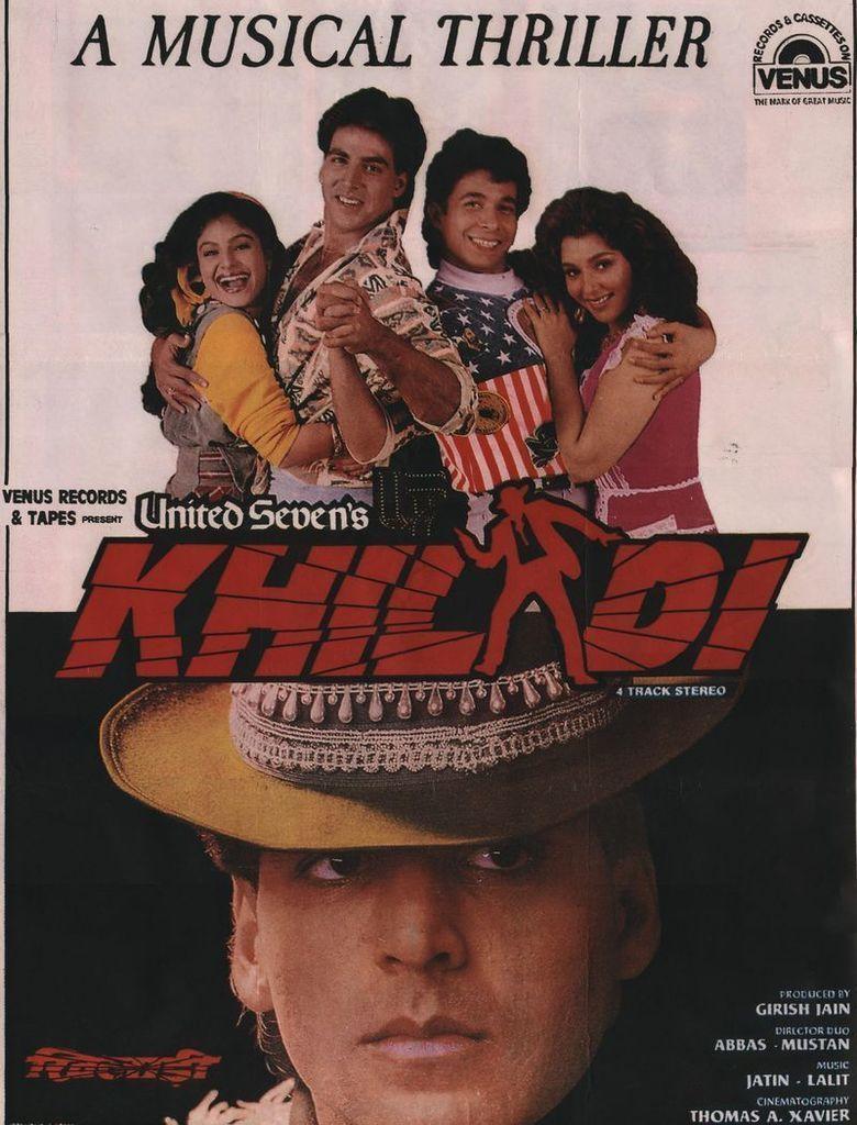 Khiladi (1992 film) movie poster