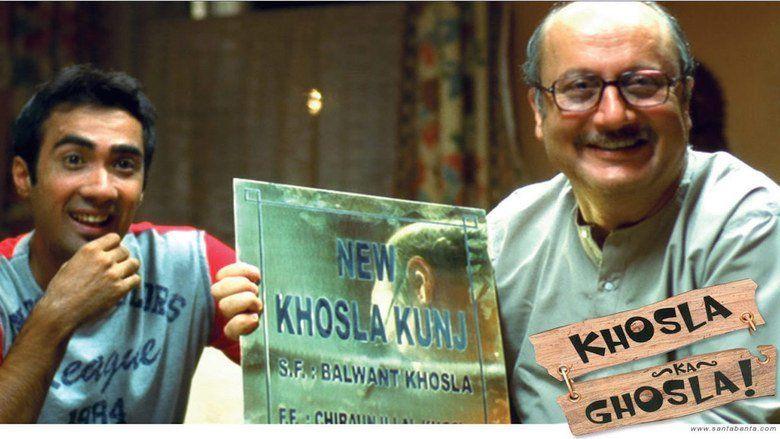 Khosla Ka Ghosla movie scenes