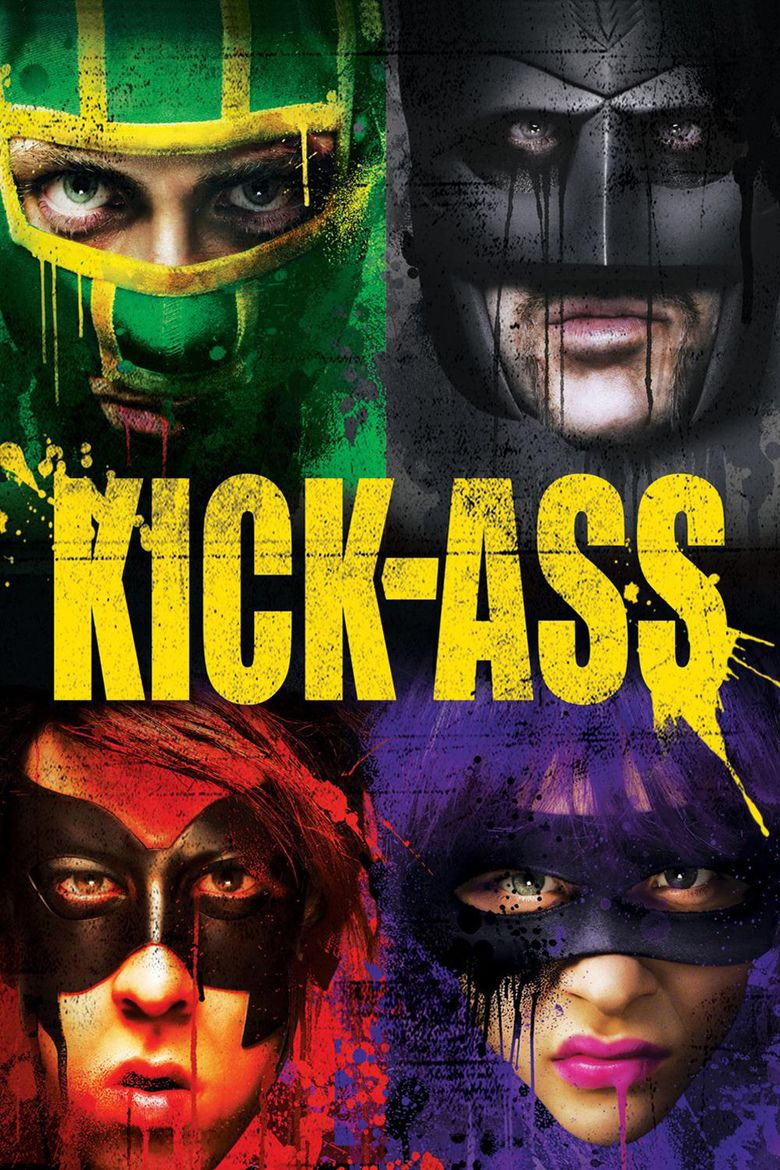 Kick Ass (film) movie poster
