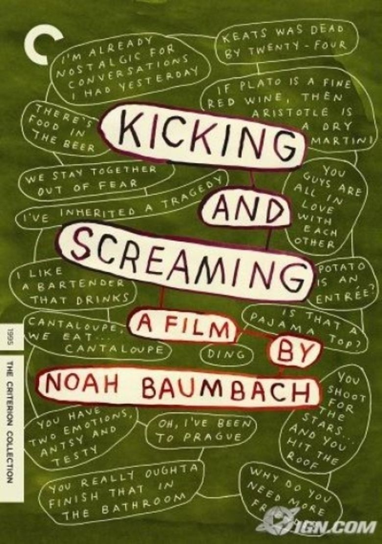 Kicking and Screaming (1995 film) movie poster