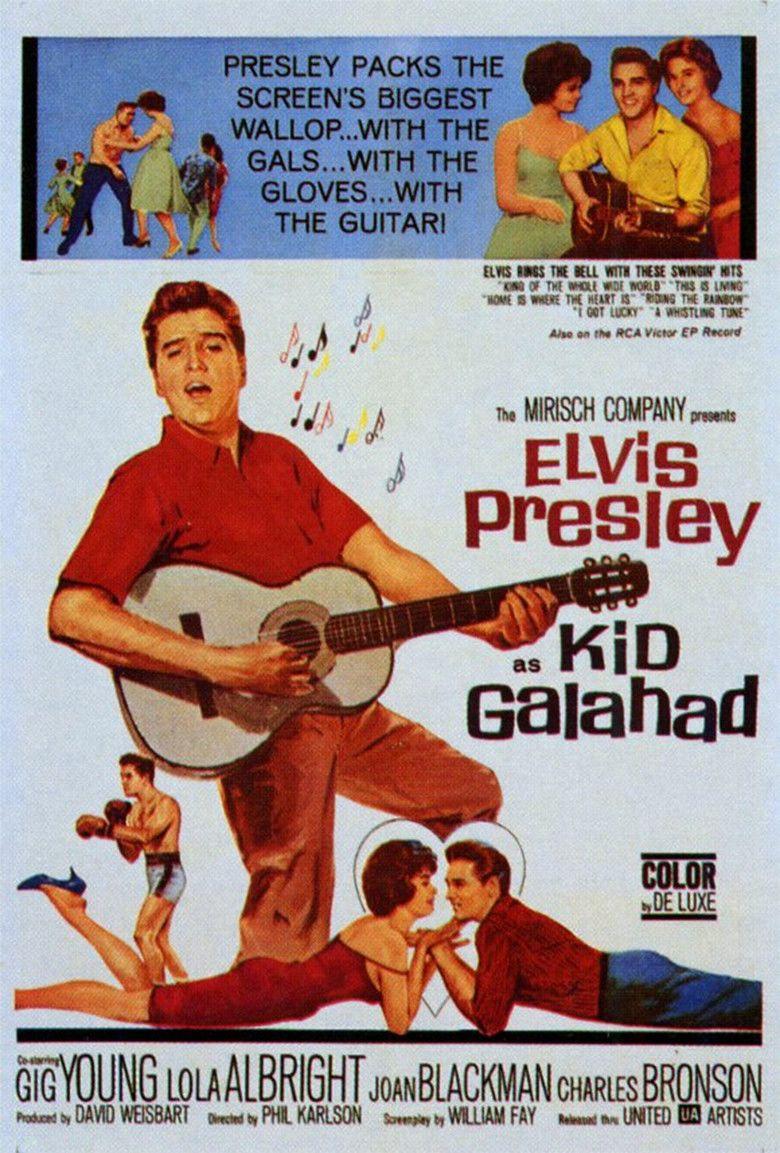 Kid Galahad movie poster