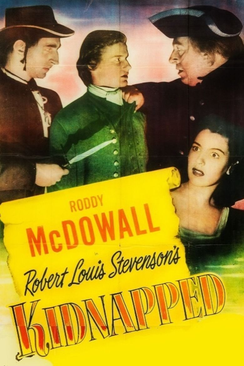 Kidnapped (1948 film) movie poster