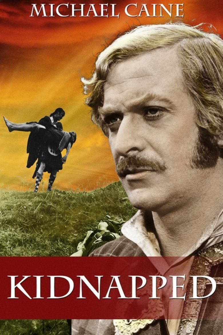 Kidnapped (1971 film) movie poster