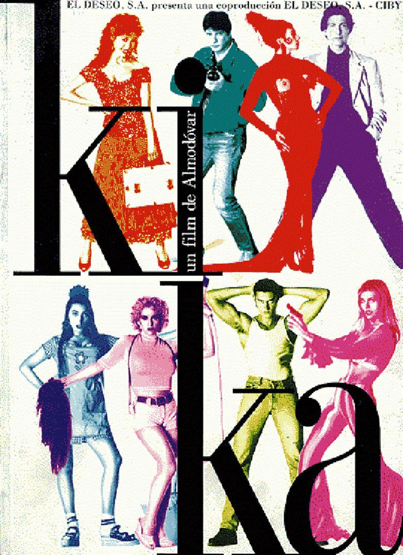 Kika (film) movie poster