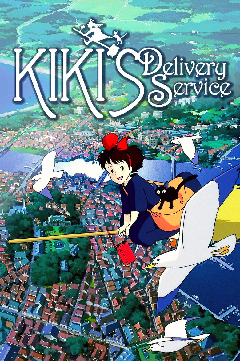 Kikis Delivery Service movie poster