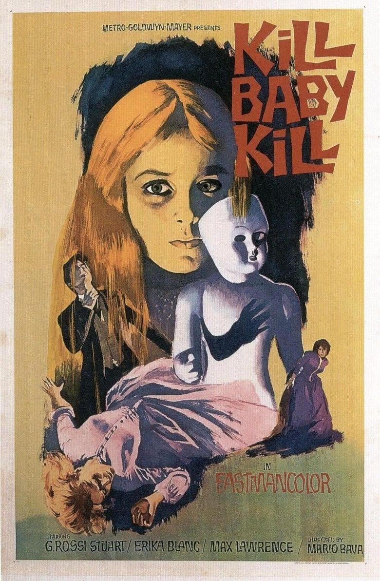 Kill, Baby, Kill movie poster