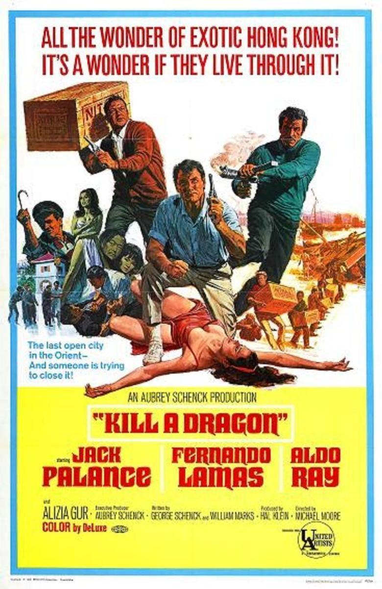 Kill a Dragon movie poster