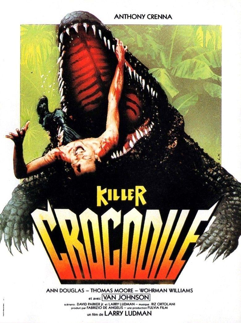 Killer Crocodile movie poster