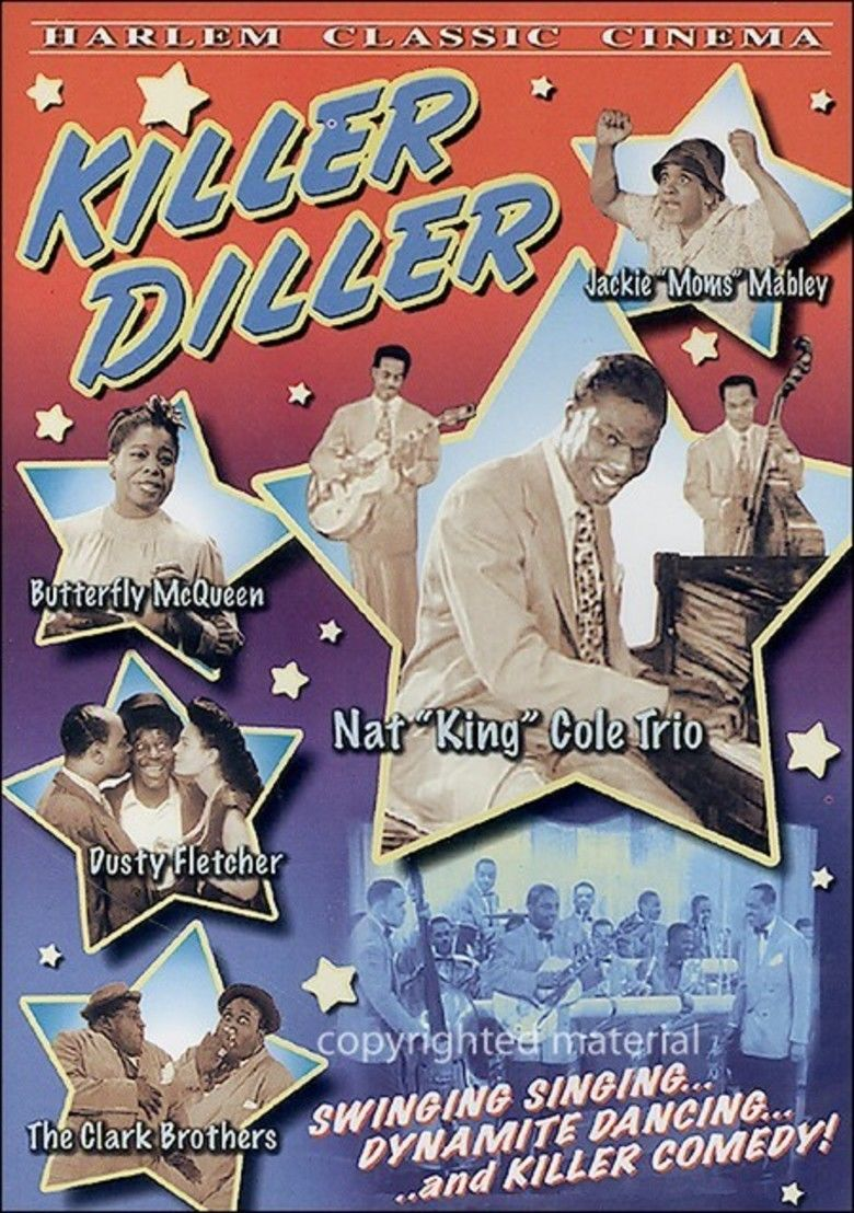 Killer Diller (1948 film) movie poster