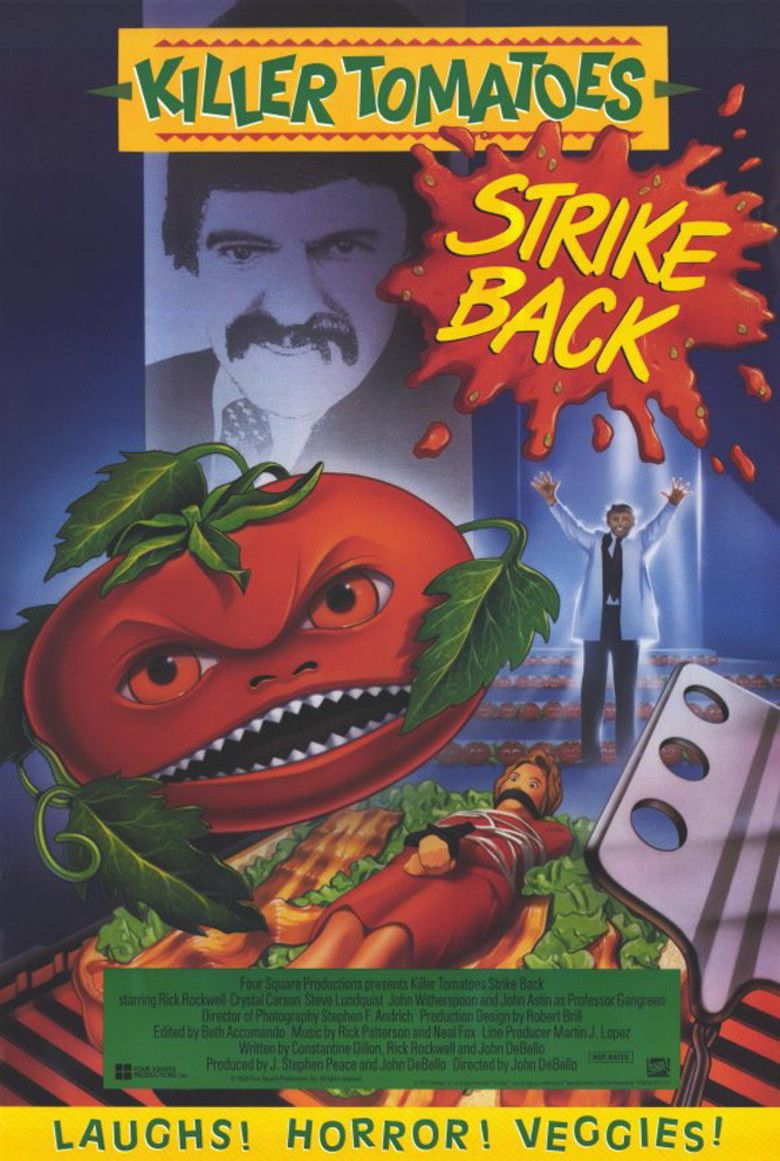 Killer Tomatoes Strike Back movie poster