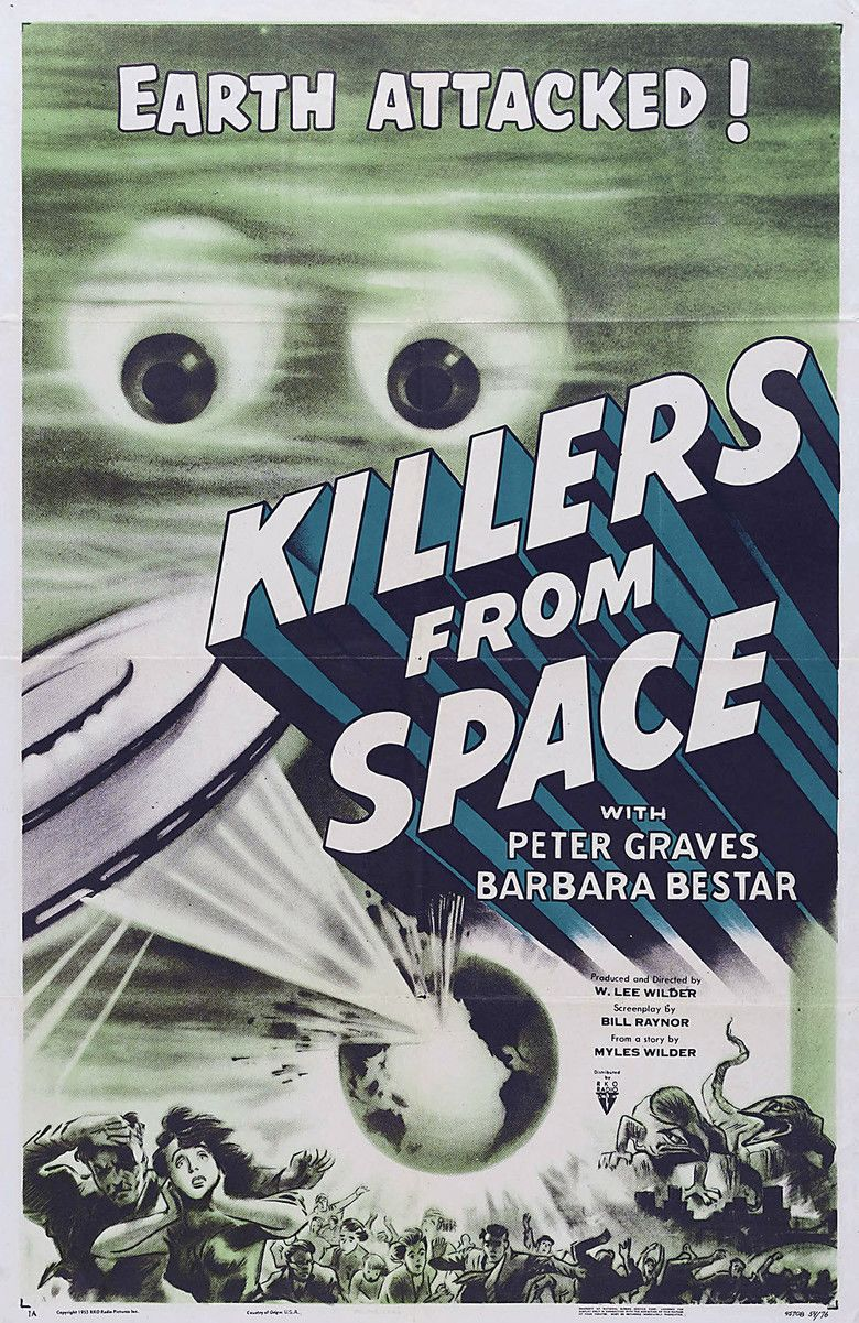 Killers from Space movie poster