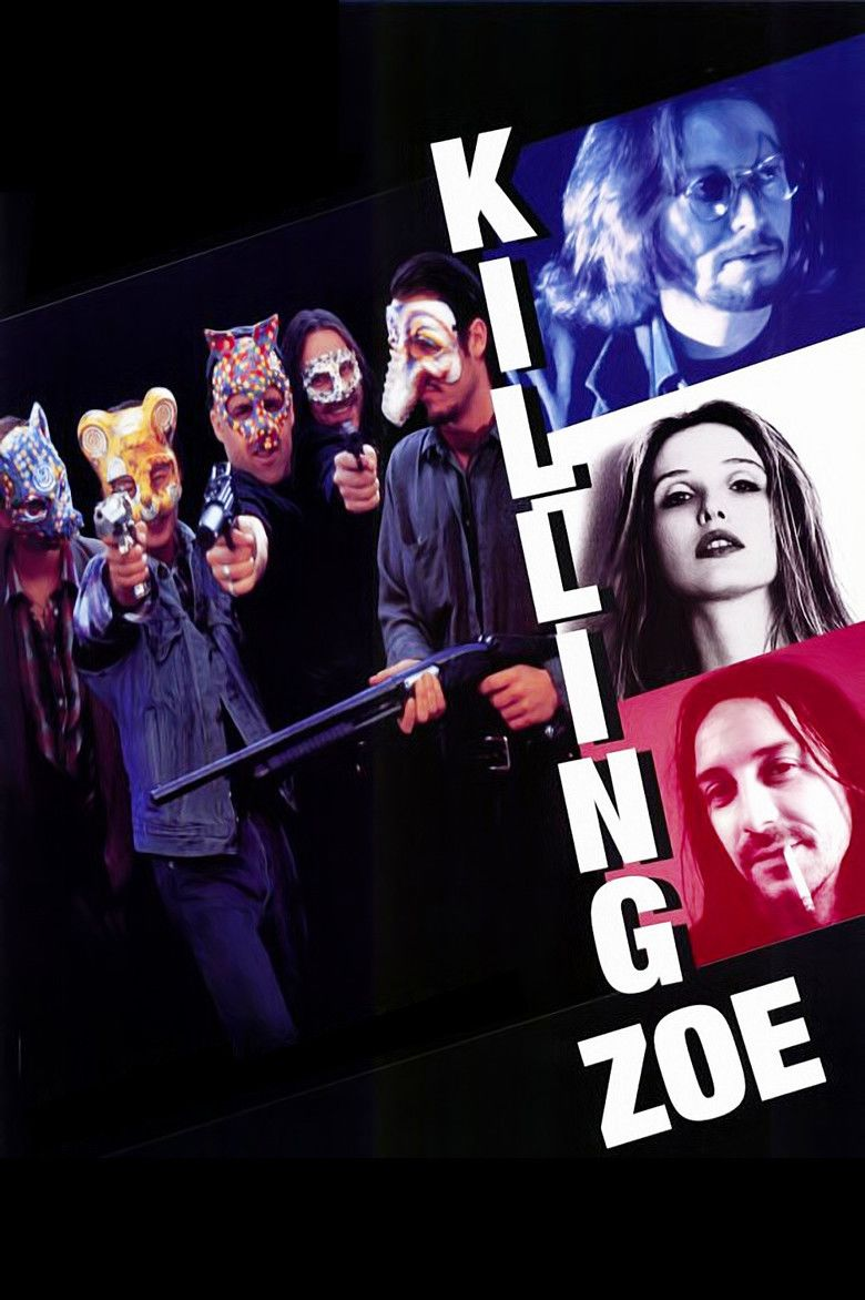 Killing Zoe movie poster