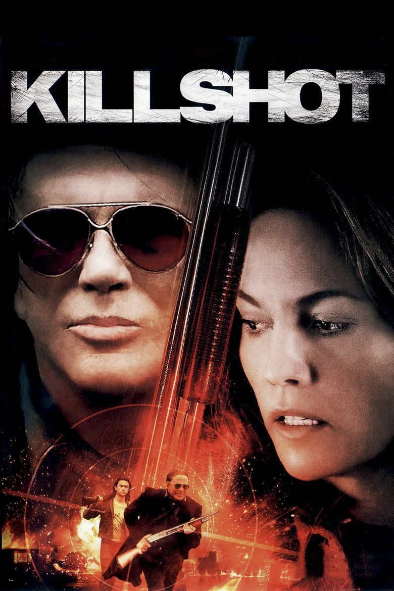 Killshot (film) movie poster