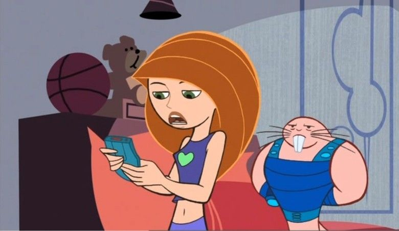 Kim Possible: A Sitch in Time movie scenes