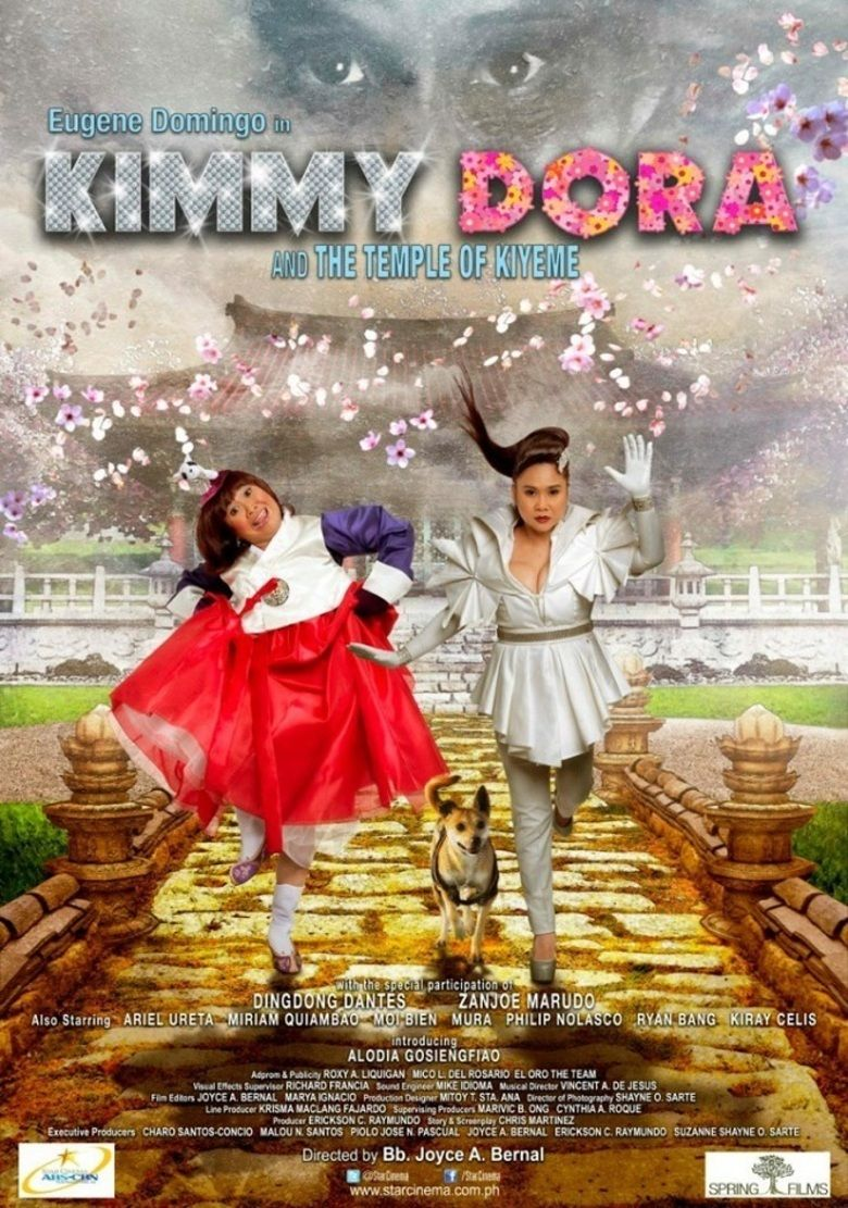 Kimmy Dora and the Temple of Kiyeme movie poster