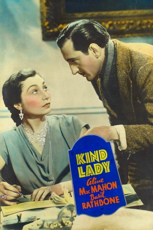 Kind Lady (1935 film) movie poster