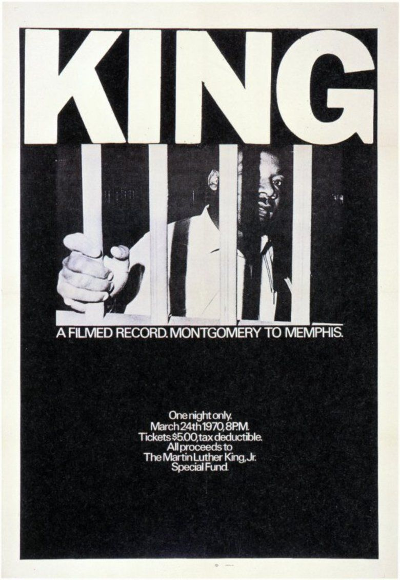 King: A Filmed Record Montgomery to Memphis movie poster