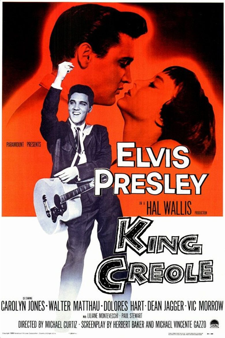 King Creole movie poster