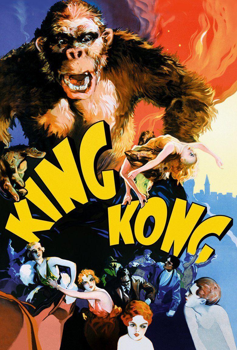 King Kong (1933 film) movie poster