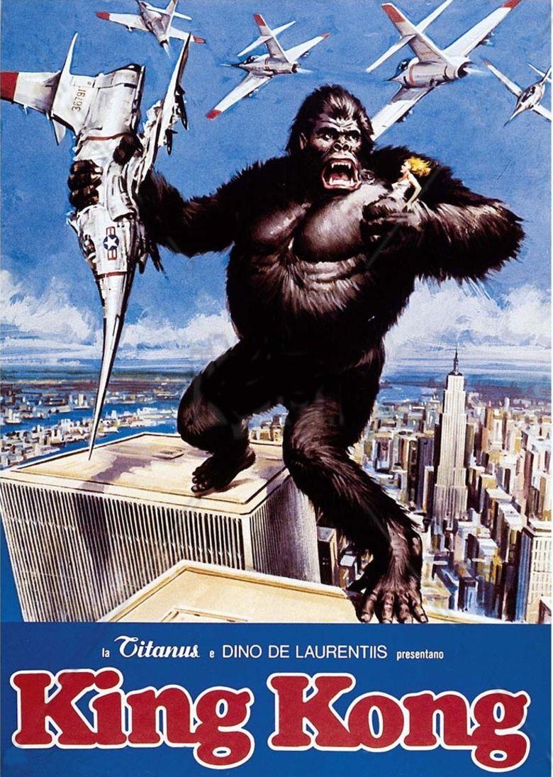 King Kong (1976 film) movie poster
