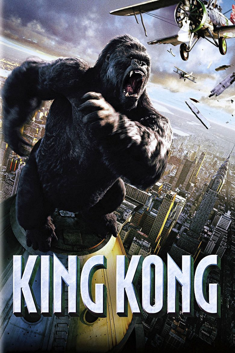 King Kong (2005 film) movie poster