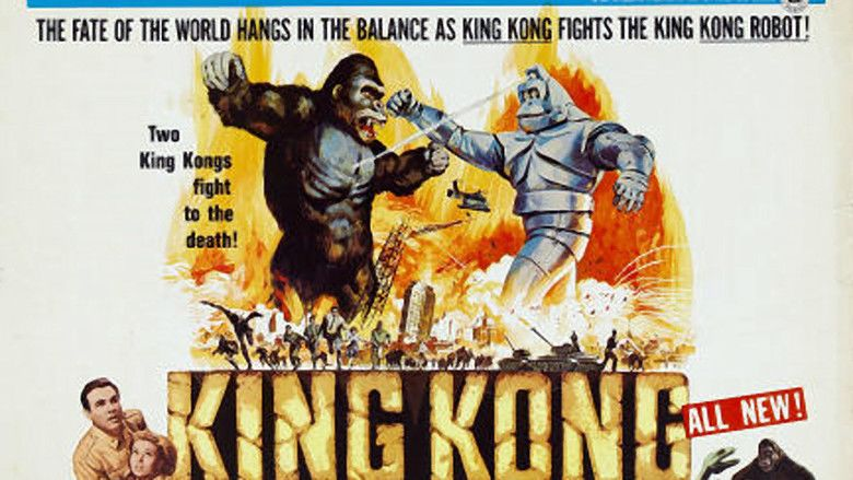 King Kong Escapes movie scenes